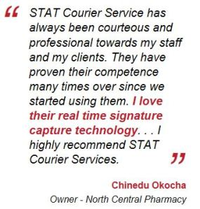 Courier Service in Texas
